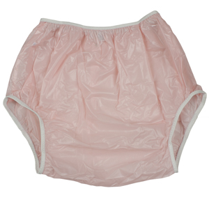 Leakmaster Youth Plastic Pants - Youth Medium - Pink Star
